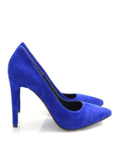 Stiletto Albastru Electric