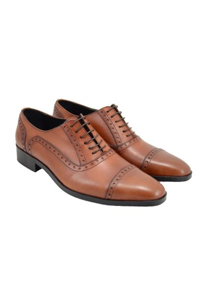 Cap-Toe Oxford Shoes