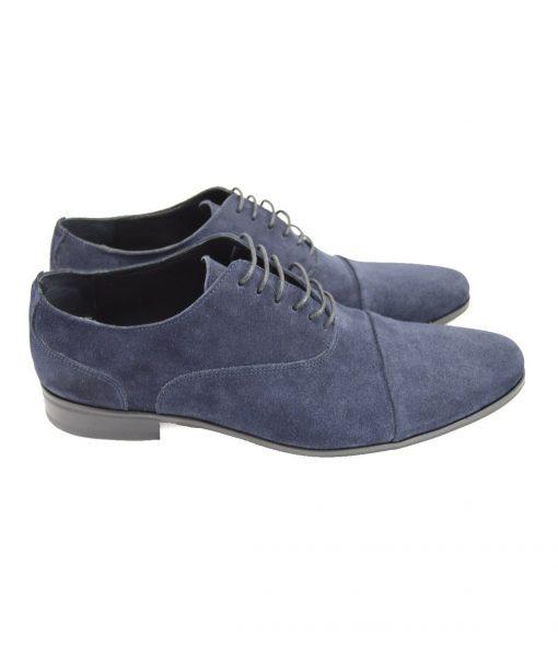Pantofi Oxford Albastri