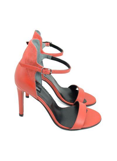 Sandale Rosii Toc Stiletto