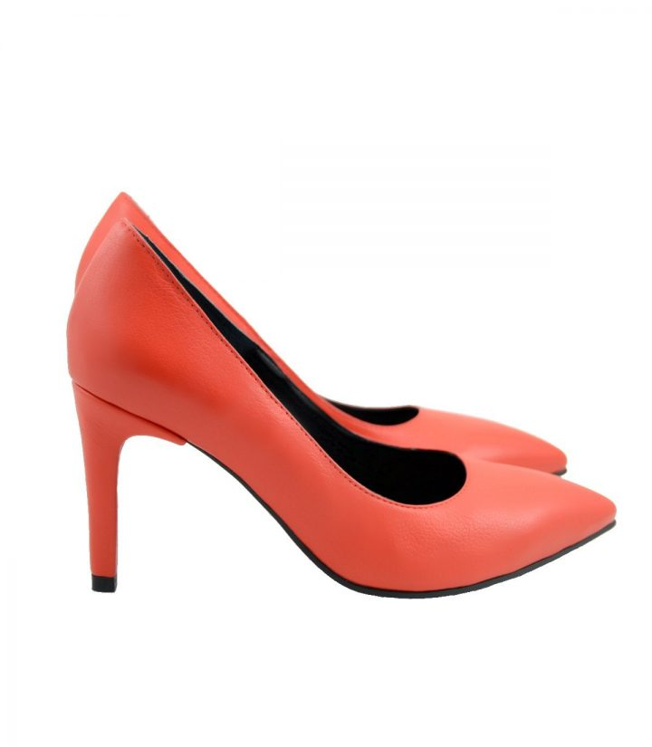 Stiletto Rosu Toc 8 centimetri 2