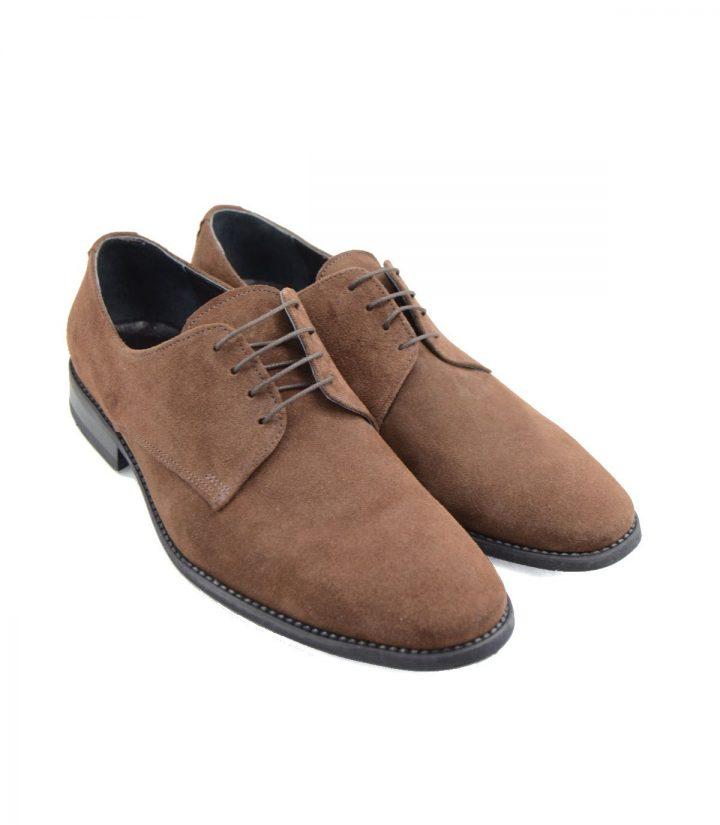 Pantofi Derby Maro Velur
