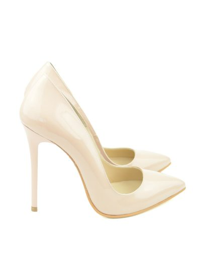 Stiletto Nude Lac Toc 11 centimetri