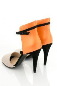 Sandale piele intoarsa