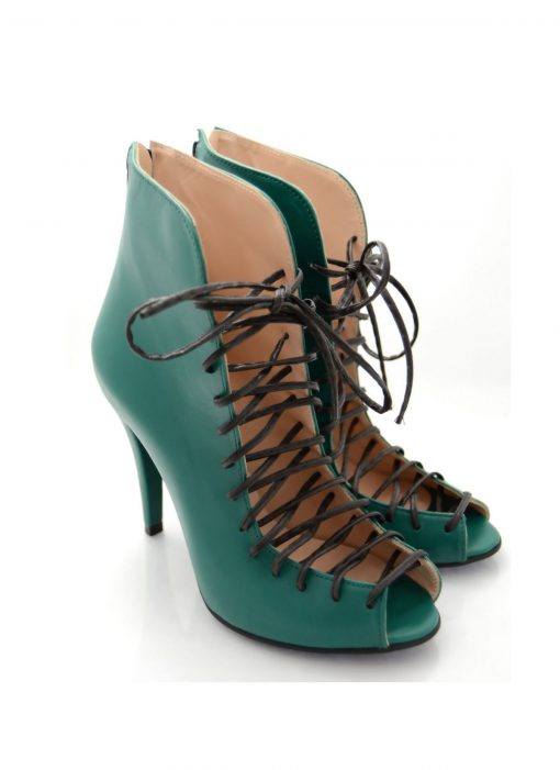 Sandale Verzi Toc 10