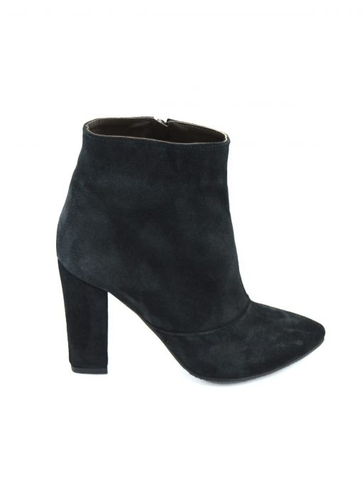 Chunky Heeled Ankle Boot