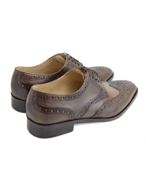 Pantofi Derby Cu Brogue-uri