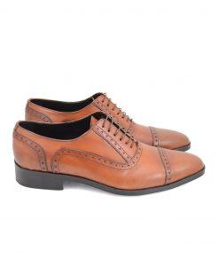 Cap-Toe Oxford Shoes