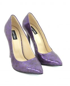 Stiletto Purple Snake